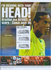"""Fifa 06 """"I'm Messing With Your Head!"""" 2005 Magazine Advert #4781"""