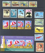 Jersey 1975 Year set complete Commemoratives mnh
