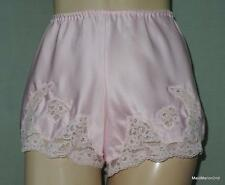 DAVID NIEPER VINTAGE SILKY PINK FRENCH KNICKERS PANTIES - Small     i