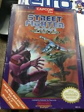 STREET FIGHTER 2010 The Final Fight (Capcom) * Nintendo NES ( NTSC USA )