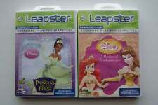 Leap Frog Leapster Learning Games Disney Princess Lot #2
