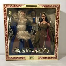 Ken & Barbie As Merlin & Morgan Le Fay NEW!! Magic Mystery Collection Limited Ed