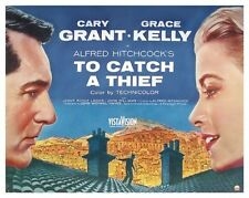 TO CATCH A THIEF MOVIE POSTER Cary Grant Grace Kelly I