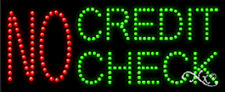 "NEW ""NO CREDIT CHECK"" 27x11 SOLID/ANIMATED LED SIGN W/CUSTOM OPTIONS 21185"
