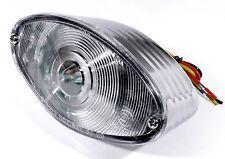 12v LED CatEye Luz trasera para Harley Suzuki Kawasaki Ducati Honda yamaha ECE blanco