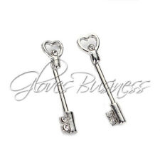 1 Pair Nipple Ring Bars Skeleton Key Body Piercing Jewelry Nipple Rings