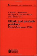 Elliptic and Parabolic Problems: Pont-A-Mousson 1994, Volume 325 (Research Notes