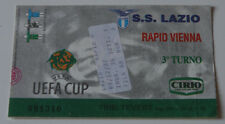 Ticket for collectors * EC SS Lazio Roma - Rapid Wien 1997 Italy Austria