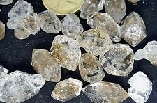 5 Rare Himalayan Double Terminated Quartz Diamonds Crystals Wand Healing Chakra