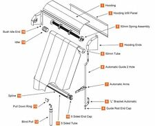 outdoor blinds parts from $30