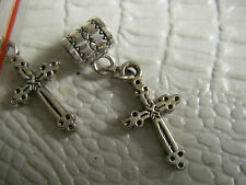 8 croix orthodoxe christianism cross pendant pendentif metal alloy
