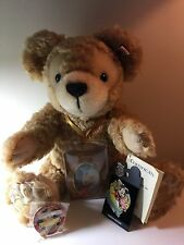 """Steiff Disney Duffy Bear"" Limited Edition with Two Pins WDW 2005 ""VERY RARE"""