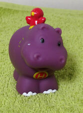 2004 Fisher Price Little People Alphabet Learning Zoo - Letter H Hippo -- Figure