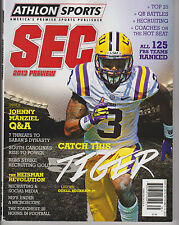 Athlon Sports 2013 SEC COLLEGE  FOOTBALL Preview, ALL 125 FBS TEAMS Ranked.