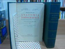 TESTUT L. - JACOB O. TRATTATO DI ANATOMIA TOPOGRAFICA.
