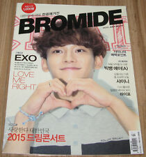 BROMIDE EXO BIGBANG SHINEE K-POP MAGAZINE 2015 JULY NEW