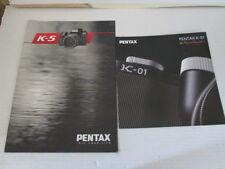 2 x Prospekt - Pentax K-5 + Pentax K-01