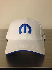 NEW! WHITE MOPAR HAT / CAP      (SHIPS IN A BOX)