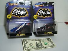 Hot Wheels Batman 1:50 - Batman 1966 Batmobile With Batboat 1/50 Series 2 - 2008