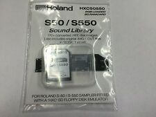 Roland S50 / S550 - Pre-Loaded SD card HXC - 170+ disk images. .HFE S-50 S-550
