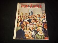 1944 JANUARY 22 NEW YORKER MAGAZINE - BEAUTIFUL FRONT COVER FOR FRAMING- J 1536