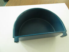 Plastic dish food/water Planit  #110 replacement cup for bird cage 1 cup blue