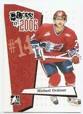 06/07 ITG HEROES & PROSPECTS CLASS OF 2006 Michael Grabner #CL9
