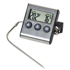 Digital Kitchen Food Cooking Oven Smoker BBQ Grill Meat Water Probe Thermometer