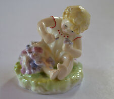 ROYAL WORCESTER MISCHIEF MODELLED BY F.DOUGHTY  FIGURINE # 2914