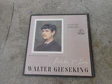 WALTER GIESEKING-DEBUSSY-TWELVE PRELUDES-BOOK TWO-LP-ANGEL 35249-IMP-DOWEL SPINE