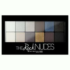 Maybelline THE ROCK NUDES 12 Eyeshadow Palette Matte Pearl Satin Shimmer NEW IN!