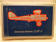 American Airlines DH-4 Bridge Size Single Deck Playing Cards USPCC!