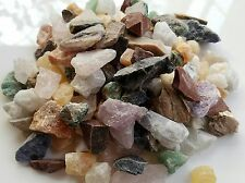 1Lb Small Crafters rock collector Mix Gems Crystals Natural Mineral Specimens