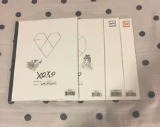 EXO XOXO The 1st Album With Photo Card And Korean Beauty!