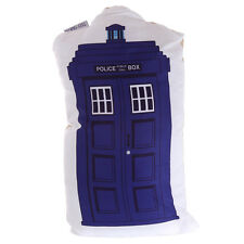 Doctor Who Ted Smith Police Box Tardis Design Shaped Large Cushion 40cm
