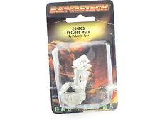 Battletech Ral Partha Cyclops Mech 20-863 FASA Mech Warrior New Sealed