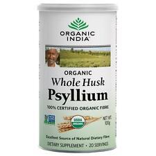 Organic India Whole Husk Psyllium Excellent Source Of Natural Dietary 100 Gram