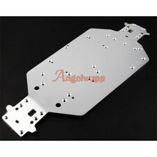 Metal Chassis Silver 04001 HSP Upgrade Parts For 1/10 RC Model Car 03601