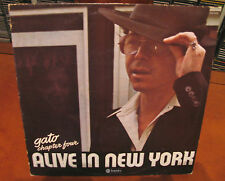 GATO BARBIERI chapter four Alive in New York - LP- original Italy 1975