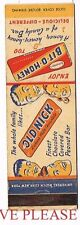 1940s Old Nick Bit-O-Honey Candy Bar Matchcover