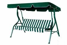 Outdoor furniture 3 Person Swing Chair Padded Cushion Yard Porch Deck Canopy Roo