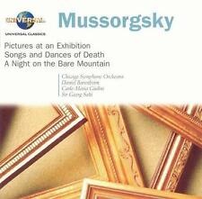 Mussorgsky: Pictures at an Exhibition; Songs and Dances of Death; A Night on the