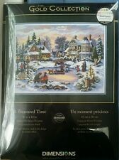 Dimensions Gold Collection Counted Cross Stitch Kit - A Treasured Time