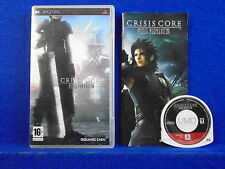 psp CRISIS CORE FINAL FANTASY VII 7 *x RPG The Prequel To FF7 Playstation NTSC