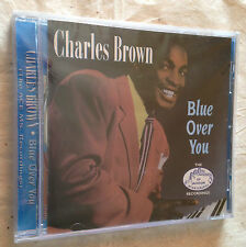 CHARLES BROWN CD BLUE OVER YOU WESM 610 1999 BLUES