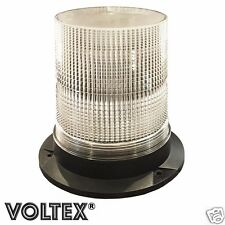 "VOLTEX® 7"" STROBE BEACON 16 WATT AMBER LED PILOT ESCORT CAR TOW TRUCK LIGHTBAR"