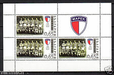 BULGARIA 2015 100 YEARS FOOTBALL SOCCER CLUB MAREK MINI-SHEET MNH  RRR
