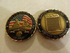 CHALLENGE COIN US ARMY ON DUTY FOR AMERICAS FREEDOM 229 YEARS AGAINST ALL ENEMY