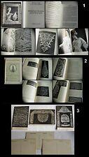 2 livres catalogues dentelle ancienne broderie + cartes, antique lace books