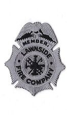 Lawnside Fire Company Firefighter Patch NEW!